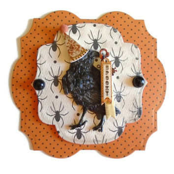 Scrapbook Embellishment, Halloween, 3D, Paper piecing, gift tags, Scrapbooking Layouts, Cards, Mini Albums, brag book, Crafts