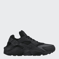 Womens Air Huarache - black/black