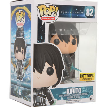 Funko Sword Art Online Pop! Animation Kirito Vinyl Figure Hot Topic Exclusive