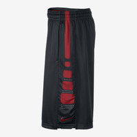 Nike Elite Stripe Men's Basketball Shorts - Black