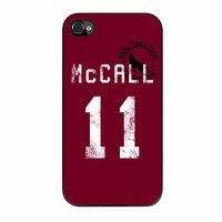 Teen Wolf Mc Call Lacrosse Jersey iPhone 4s Case