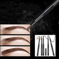1Pc Rotatable Waterproof Eyeliner Eyebrow Eye Brow Pencil Makeup Cosmetic Pen 7GZ5