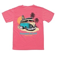 Free and Easy Tee Shirt in Watermelon by Waters Bluff