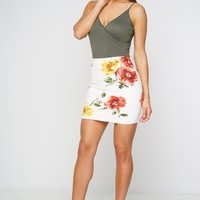 Rya Mini Skirt - Floral
