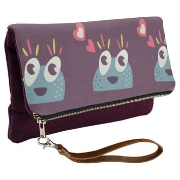 Kawaii Cute Cartoon Candy Character Clutch