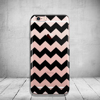 Black Chevron iPhone 5 Case Clear iPhone 6 Plus Case Transparent iPhone 6s Case iPhone 6 Case Soft Silicone iPhone Case