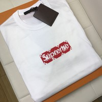 Supreme Louis Vuitton Monogram Box Logo T-Shirt