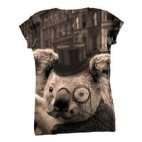 Yizzam Women's AnimalShirtsUSA- Sir Koala -Tagless T-Shirt