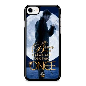 Once Upon A Time Captain Hook Believe Iphone 8 Case