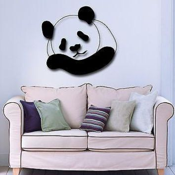 Wall Stickers Vinyl Decal Panda Animal Great Decor for Children's Room Unique Gift (ig734)