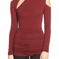 Bailey 44 'Expressionist' Cutout Long Sleeve Top | Nordstrom