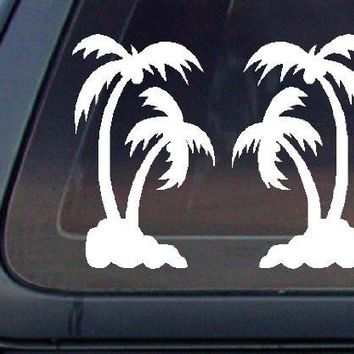 Palm Tree SET Car Decal / Sticker