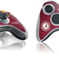 University of Alabama Xbox 360 Wireless Controller Skin - University of Alabama Seal Vinyl Decal Skin For Your Xbox 360 Wireless Controller