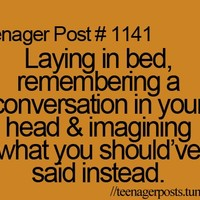 advice, bed, imagining, quote, regrets - inspiring picture on Favim.com