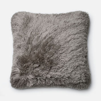 Loloi Grey Decorative Throw Pillow (P0191)