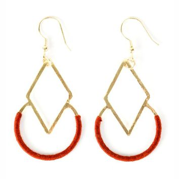 Fair Trade Earrings - Graphic Threads