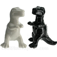 Dinosaur Shaped Salt And Pepper Shakers