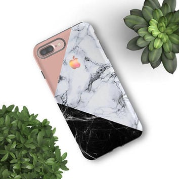 Gift Woman Marble iPhone 7 case iPhone 7 plus case Samsung Galaxy S8+ case Galaxy S7 edge S6 Galaxy Note 5 Protective Tough Snap Case 005