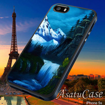 Ice Mountain Water Fall - Samsung Galaxy S2/S3/S4,iPhone 4/4S,iPhone 5/5S,iPhone 5C,Rubber Case,Cell Phone,Case,Accessories - 040214/CA14