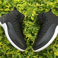 AIR JORDAN 12 Basketball Shoes Cushion Sneakers For Men
