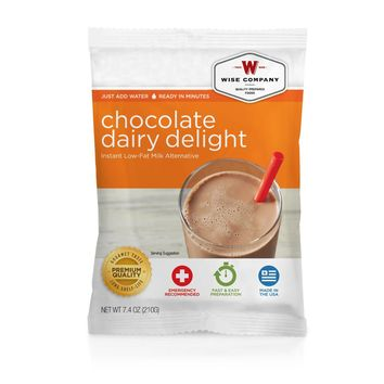 Wise Dessert Dish - Chocolate Dairy Delight, 6 Servings