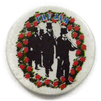 Vintage 80s The Jam Eton Rifles Pinback Button Pin Badge