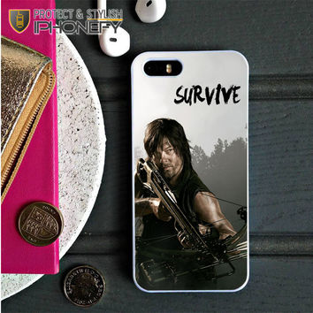 The Walking Dead Daryl Dixon Survive iPhone 5C Case|iPhonefy