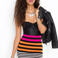 Different Strokes Skirt  in  Sale at Nasty Gal