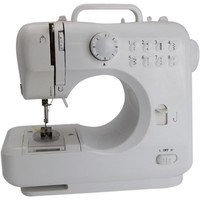 Michley Lil' Sew & Sew LSS-505 Combo Mini Sewing Machine, Electrical Scissors and 100-Piece Sewing Kit