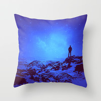 Lost the Moon While Counting Stars III Throw Pillow by Soaring Anchor Designs