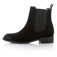 **PEARSON SUEDE CHELSEA ANKLE BOOTS BY BERTIE