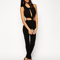 ASOS Jumpsuit with Cut Out Waist Detail
