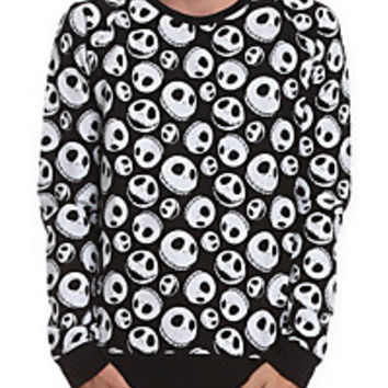 The Nightmare Before Christmas Jack Skellington Sweatshirt | Hot Topic