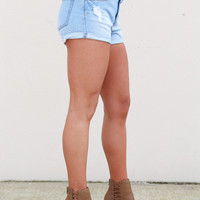 Denim Delilah Shorties