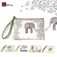 2016 New Cartoon Women's Purse Ladies Day Clutches Coin Purses Vintage Women Storage Bags Purse for Coins Women Wallet Pouch H22
