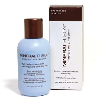 Mineral Fusion Eye Makeup, Remover - 3.4 Oz