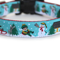 Snow Play Dog Collar