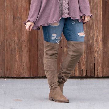 Olympian Over the Knee Tall Boot