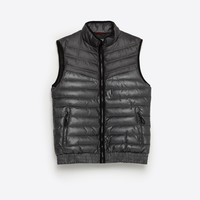 CONTRAST DENIM WAISTCOAT - JACKETS-SALE-MAN | ZARA United Kingdom