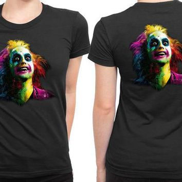 DCCKL83 Beetlejuice 2 Sided Womens T Shirt