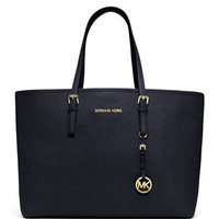 MICHAEL Michael Kors  Medium Jet Set Multifunction Saffiano Tote - Michael Kors