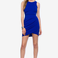 Kayleen Drape Sheath Dress