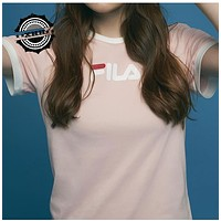 """Fila"" Women Simple Youth T-shirt"