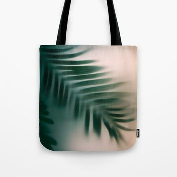 Green blur Tote Bag by Eugenie