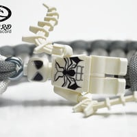 Future Spiderman Minifigure Bracelet