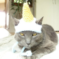 Unicorn Cat Hat Unicorn Hat for Cats and Small Dogs Unicorn Costume for Cats and Dogs Unicorn Dog Hat Unicorn Pet Costume Hats for Dogs Cute