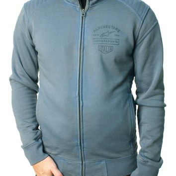 Alpinestars Men's Certified Crew Full Zip Heavy Weight Premium Fleece Jacket