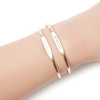Engraved Cuff Set | Forever 21 - 1000142483