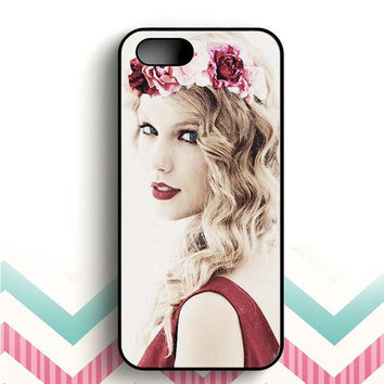Taylor Swift In Boho-Hippie Style iPhone 5 and 5s case