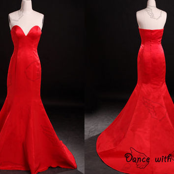 Sexy sweetheart red  prom dresses,prom dress,long prom dress,bridesmaid dresses,evening dresses,bridesmaid dress,evening dress